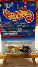 Hot Wheels Whatta Drag Collector 1044 version base grise China (9971)