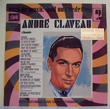 """33T André CLAVEAU Disque LP 12"""" MUSIC HALL VEDETTES Enr. Org. 78T PATHE 15376"""