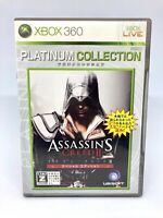 Microsoft Xbox 360 - ASSASSIN'S Creed II Platinum Collection - Version Japon