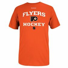 Philadelphia Flyers Reebok Center Ice Authentic Team Logo Orange T-Shirt  Men s 10fb68dae