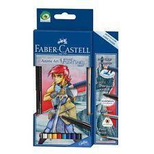 "Faber-Castell Aquarelle Farbstifte Mangaset Anime Art ""Fantasy"""
