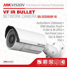 Hikvision DS-2CD2620F-IS IP Bullet Camera, 2MP/1080P, 2.8-12 mm, IR to 30M, IP66