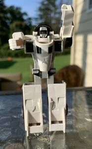 Vintage 1984 Bandai GoBots White Crasher 100% Complete Action Figure