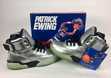 "Patrick Ewing 33 Hi LE ""Silver Ice"" Shoes Men's Size US 5 With Box & Key chain"