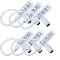 5PCS Mini LED Controller 3 Key Dimmer for 3528 5050 LED RGB Light Strip DC 12V