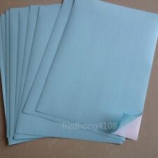 50 Sheet Light Blue A4 Matte Self Adhesive Label Sticker Printer Paper