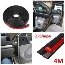Universal 4M Z-shape Car Door Rubber Weather Seal Hollow Strip Weatherstrip