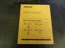 CAT Caterpillar 4G63 4G64 Gasoline Engines Lift Trucks Parts Manual  98715-40020