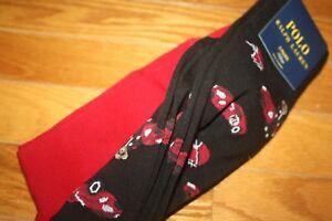 Brand New Polo Ralph Lauren Men's Bear Trouser 2-Pack Socks SHIP FREE US FAST