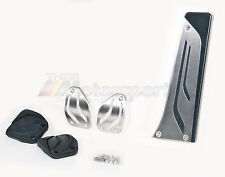 BMW M Performance Stainless Steel Pedal Covers Set Manual OEM 1 2 3 4 5 6 Series