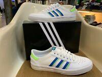 Adidas Lucas Premiere Men's Skateboarding Shoe - White / Blue / Green