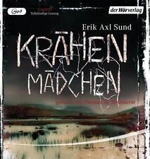"""Krähenmädchen: Band 1 der """"Victoria-Bergman-Trilogie"""" - Psychothriller - CD  //0"""