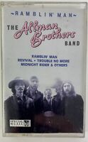 Allman Brothers Band Ramblin Man Out of Print Cassette Tape