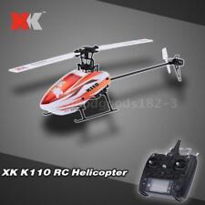 Original XK Blast K110 6CH 3D 6G System Brushless Motor RTF RC Helicopter F8C5