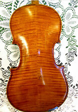 Fine Old Scottish Violin by J.W Briggs 1886 Iron Branded & Hand Signed 4/4 WOW!