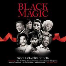 BLACK MAGIC - 60 SOUL CLASSIC -  VARIOUS ARTISTS (NEW SEALED 3CD)