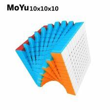 MoYu Meilong Mofang Jiaoshi 10x10x10 Stickerless Magic Cube Puzzle Cube Speed