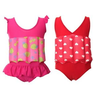 Baby Kids Children's Adjustable Float Suits Learn To Swim Float Aid Floatsuit