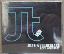 JUSTIN TIMBERLAKE Rock Your Body PROMO REMIXES DJ Unique! CD Single BRAZIL