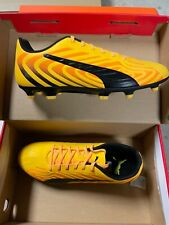 Puma One 20.4 Fg/Ag Yellow Black Men Spikes Football Soccer Shoes Size 10
