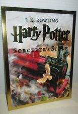 HARRY POTTER AND THE SORCERER'S STONE BOOK JUMBO PROMO TRADING CARD JK ROWLING