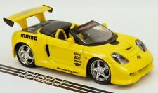Muscle Machines 2001 Toyota MR-2 Spyder Roadster Yellow Import Tuner 1/64 Scale