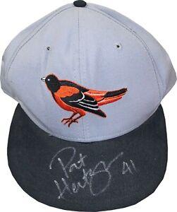 Pat Hentgen signed Orioles Authentic MLB New Era Pro Model Wool Cap #41- JSA