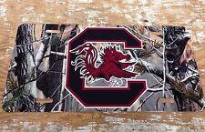 License Plate USC University Of South Carolina Camo Camouflage New Car Tag