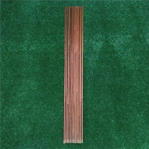 12Pcs Bamboo Shaft for DIY Bamboo Arrow Archery Hunting Recurve Bow Arrows