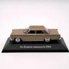 IXO Altaya IKA Rambler Ambassador 1965 Diecast Models 1:43 Toys Christmas Gifts