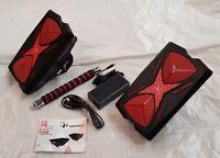 Mars Walker Red Hover Shoes 250w Drift Hoverboard Self Balancing Hovershoes+Bar