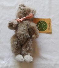 """90/97 Boyds Bears & Freiends Gray 7"""" Jointed Mouse Plush Toy"""