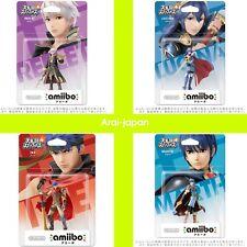 Reflet ( Robin ) & Lucina & Marth & Ike  amiibo  Nintendo Wii U 3ds Japan New