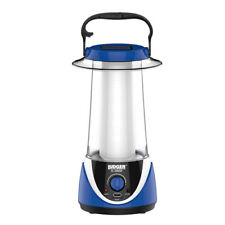 Ludger Power & Light Solar Rechargeable Emergency Light Lantern w/ Dimmer, Blue