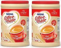 Coffee Creamer Powder Original Nestle Coffee Mate  Flip-Top 56-oz  2/packs