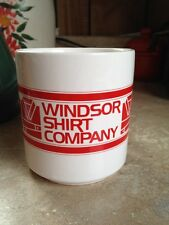 Windsor Shirt Company 1950's Vintage Ceramic Coffee Mug Mint!
