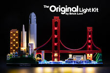 Led Lighting Kit for Lego ® Architecture Skyline Collection San Francisco 21043