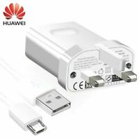 OFFICIAL HUAWEI CHARGER WALL PLUG & USB CABLE FOR P8 LITE Y7 Y6 2017 2018 2019