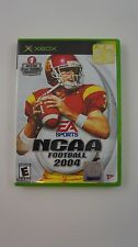 ~* Original XBOX NCAA Football 2004 Game Excellent Condition Complete *~