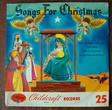 Songs for Christmas on 78 rpm Mercury CM25