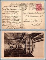 1930 ITALY Postcard - Venezia to Sterling, Illinois USA H3