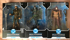 3 DC Multiverse McFarlane Figures Aquaman White Knight Red Edition & The Drowned