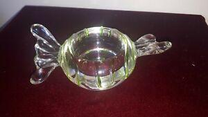 Sweet Bon Bon Shape Cut Crystal Glass Candle Tea Light Holder Great Gift