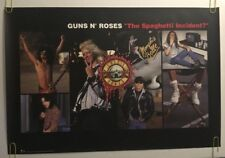 Guns N Roses Vintage Poster The Spaghetti Incident 1993 Pin-up Promo Ad 1990's