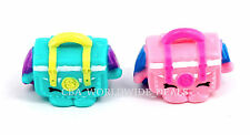NEW Shopkins Season 4 Fashion Spree Figures - Pink & Teal SATCHEL - SET OF 2