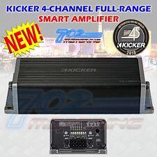 KICKER 45KEY1804 CAR KEY SMART SOUND PROCESSOR AMP 4CH 180W AMPLIFIER MIC SETUP
