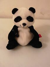 COCA COLA PLUSH BEANIE PANDA ZONGSHI THE PANDA CHINA 1998 BEAN BAG BEANIE