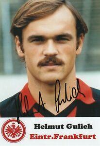 Helmut Gulich  Eintracht Frankfurt  * Foto * signiert