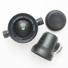 Nikon UW-Nikkor 20mm f/2.8 underwater lens for Nikonos camera. Pressure tested.