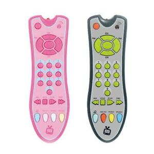 Baby Music TV Mobile Phone Remote Control Electric Number Learning Kids Toy Gift